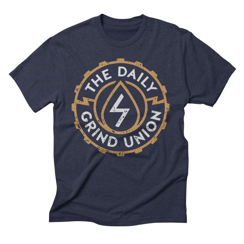 Daily Grind Union Men's Triblend T-Shirt by Brent Galloway's Shop