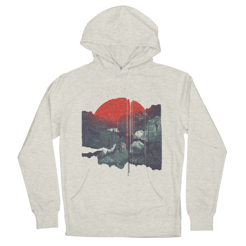 Sun Spills; Night Falls Men's Pullover Hoody by Brent Schoepf Makes Shirts