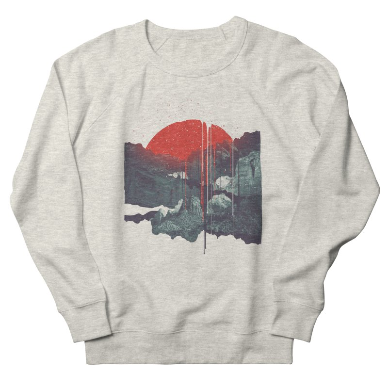 Sun Spills; Night Falls Men's Sweatshirt by Brent Schoepf Makes Shirts