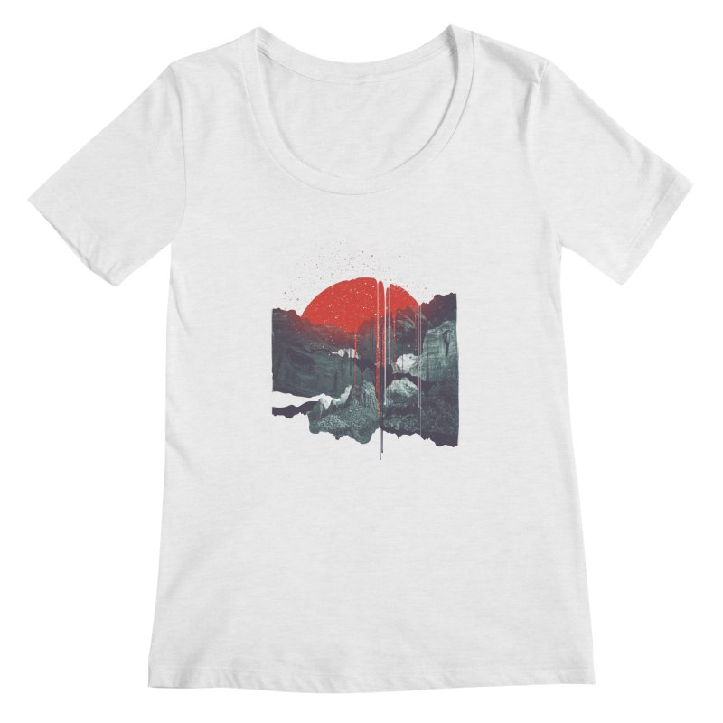 Sun Spills; Night Falls   by Brent Schoepf Makes Shirts