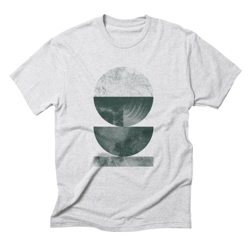Layers Men's Triblend T-shirt by Brent Schoepf Makes Shirts