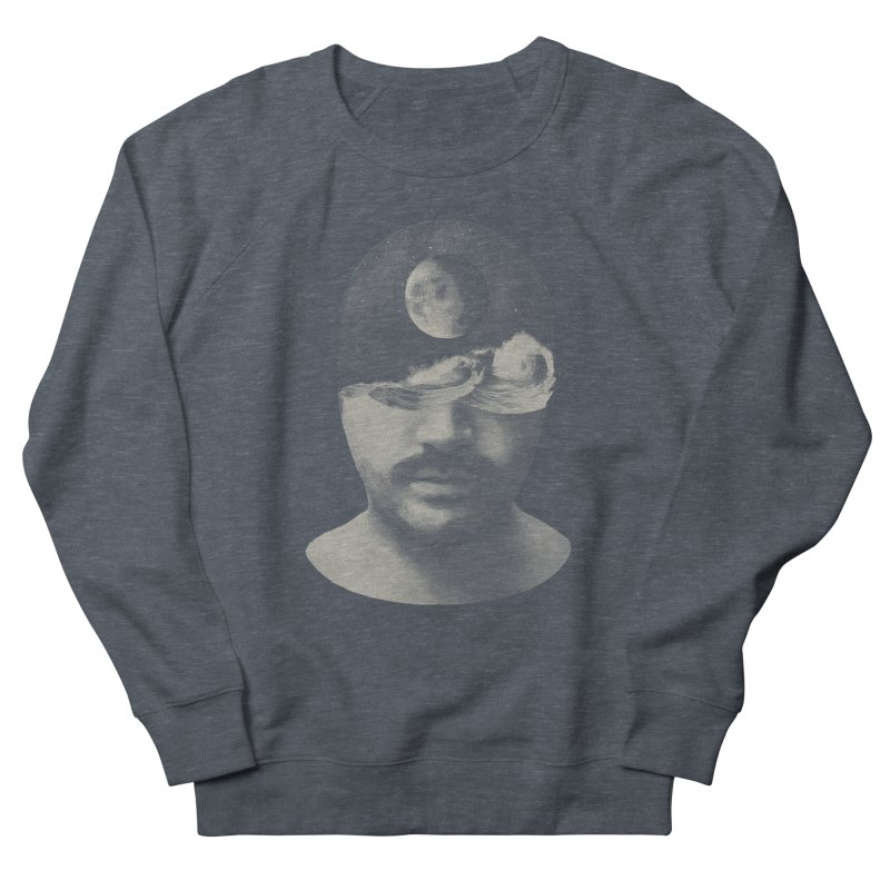 Moon Man Men's Sweatshirt by Brent Schoepf Makes Shirts