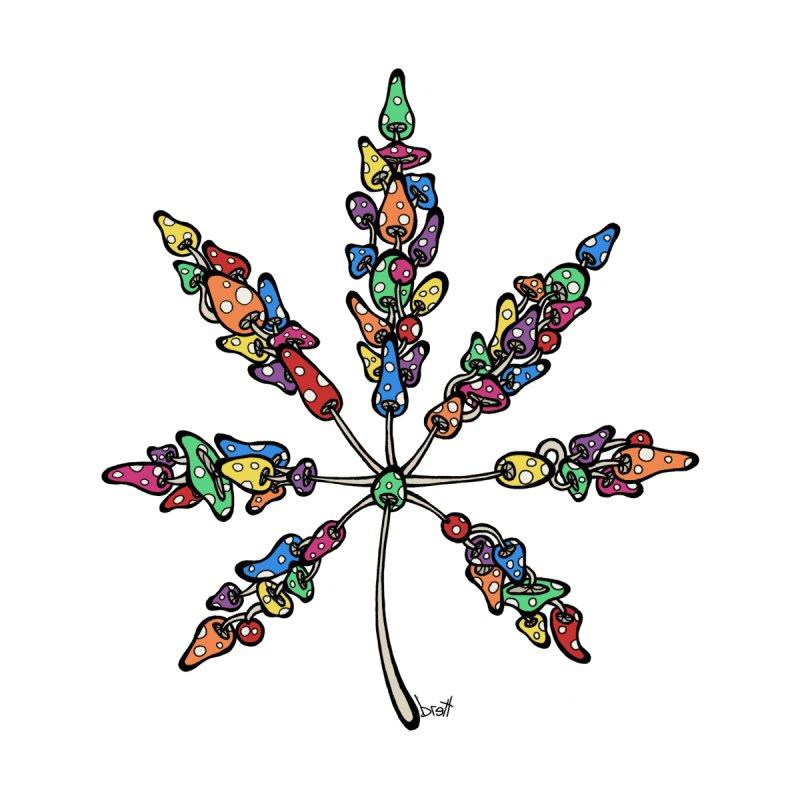 Leaf Made of Mushrooms by brettgilbert's Artist Shop