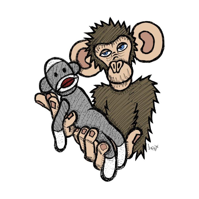 Sock Monkey by brettgilbert's Artist Shop