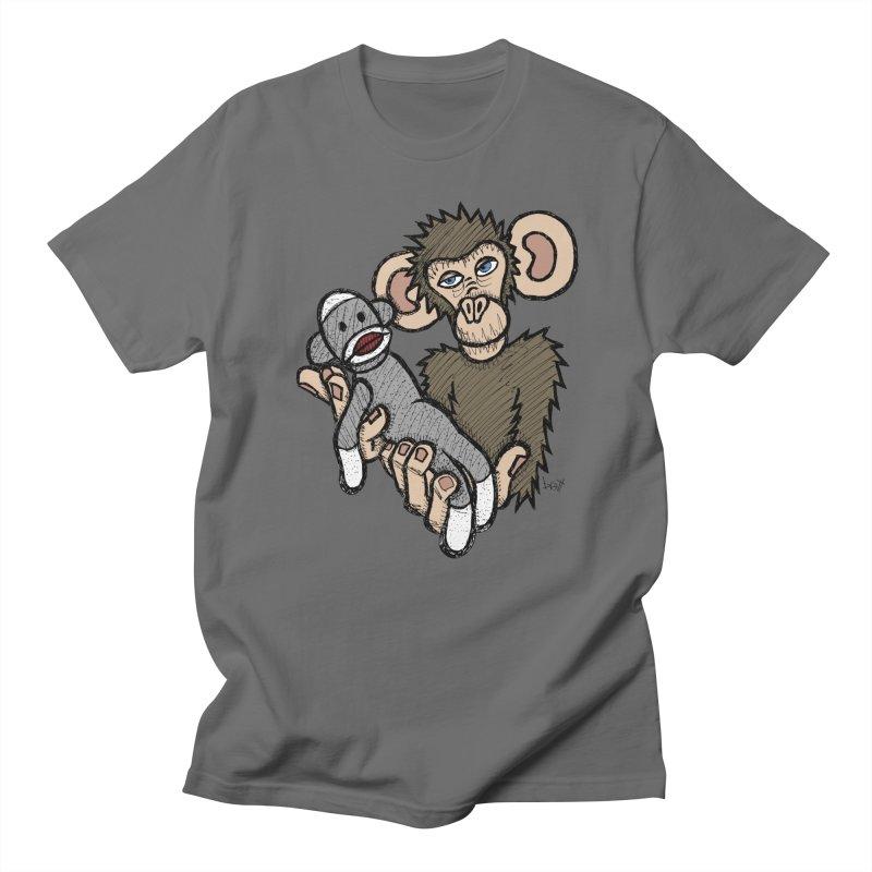 Sock Monkey Men's Lounge Pants by brettgilbert's Artist Shop