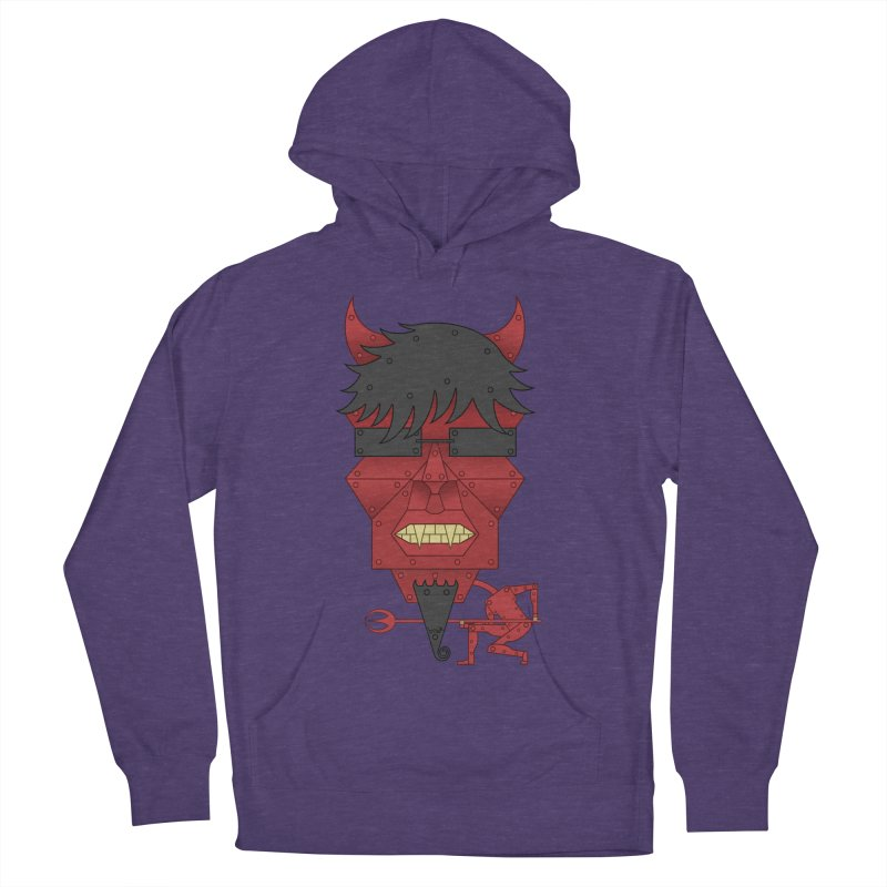 The Devil Women's Pullover Hoody by brettgilbert's Artist Shop