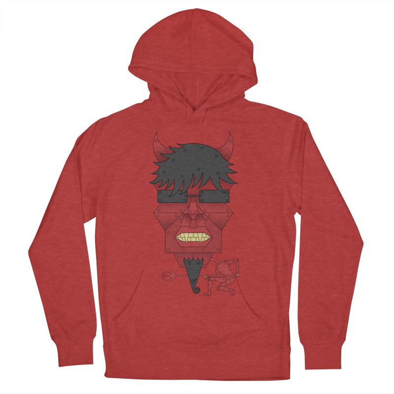 The Devil Women's Pullover Hoody by brettgilbert's Artist Shop