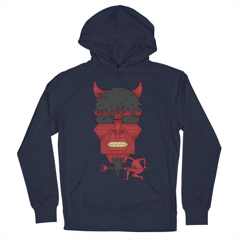 The Devil Women's French Terry Pullover Hoody by brettgilbert's Artist Shop
