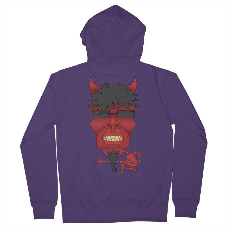 The Devil Women's Zip-Up Hoody by brettgilbert's Artist Shop