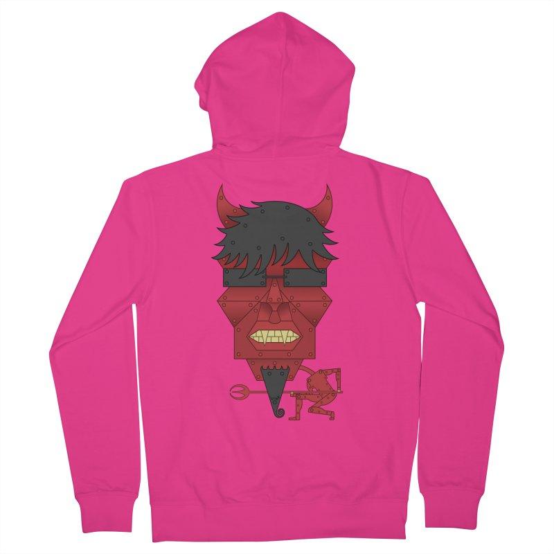 The Devil Men's Zip-Up Hoody by brettgilbert's Artist Shop
