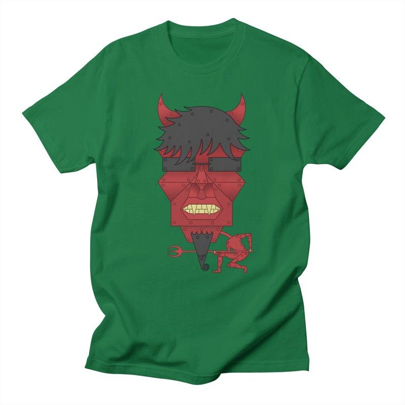 The Devil Men's Regular T-Shirt by brettgilbert's Artist Shop