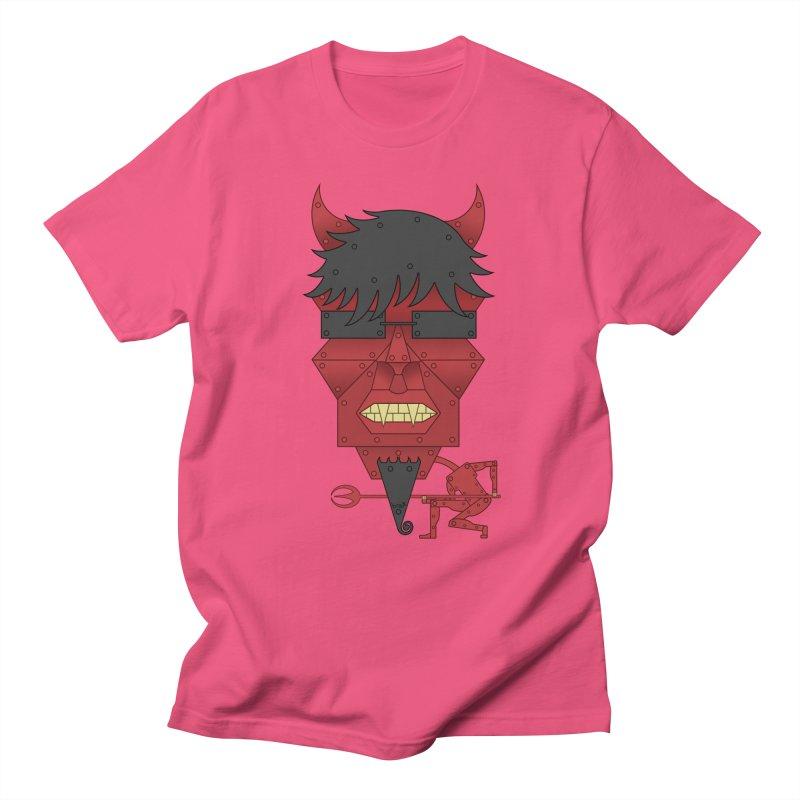 The Devil Men's T-Shirt by brettgilbert's Artist Shop