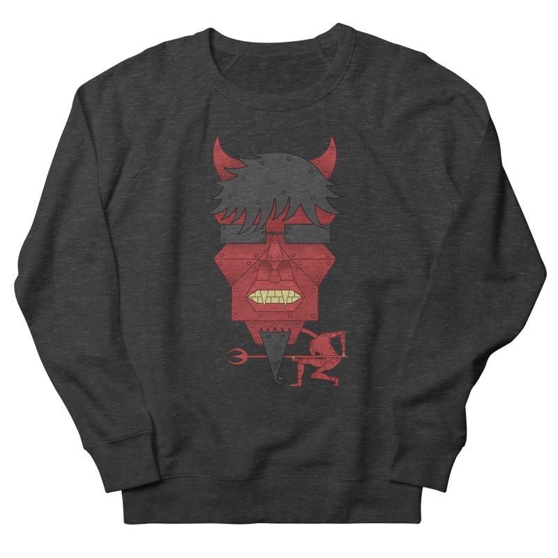 The Devil Men's French Terry Sweatshirt by brettgilbert's Artist Shop