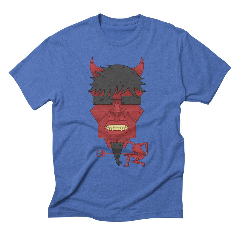 The Devil Men's Triblend T-Shirt by brettgilbert's Artist Shop