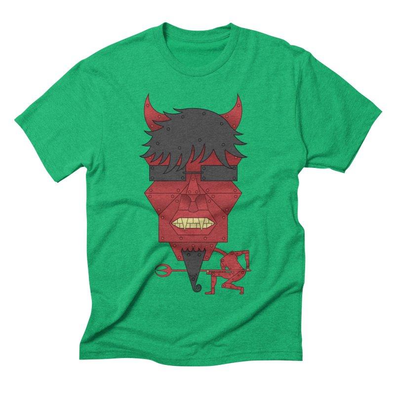 The Devil Men's Triblend T-shirt by brettgilbert's Artist Shop