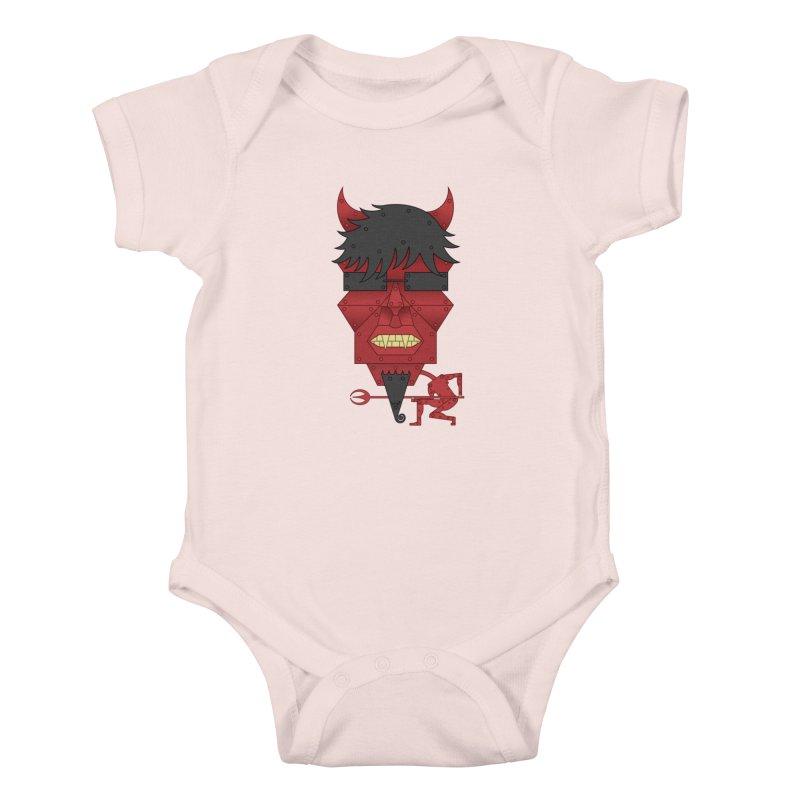 The Devil Kids Baby Bodysuit by brettgilbert's Artist Shop