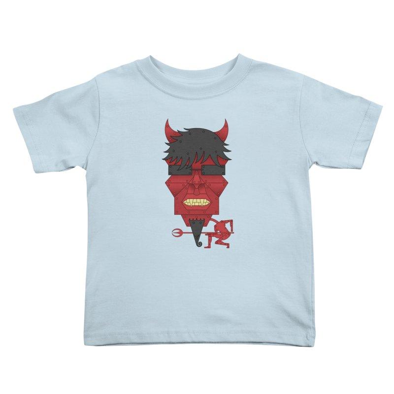 The Devil Kids Toddler T-Shirt by brettgilbert's Artist Shop