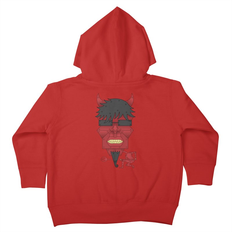 The Devil Kids Toddler Zip-Up Hoody by brettgilbert's Artist Shop