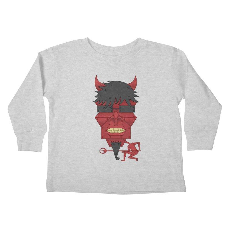 The Devil Kids Toddler Longsleeve T-Shirt by brettgilbert's Artist Shop