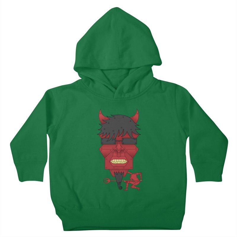 The Devil Kids Toddler Pullover Hoody by brettgilbert's Artist Shop