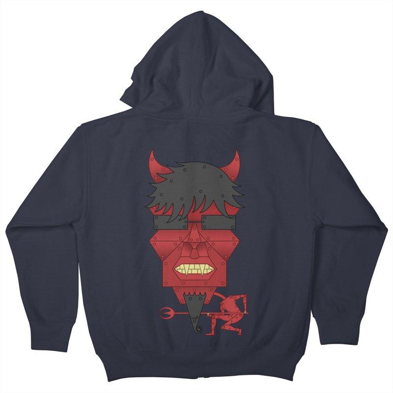 The Devil Kids Zip-Up Hoody by brettgilbert's Artist Shop