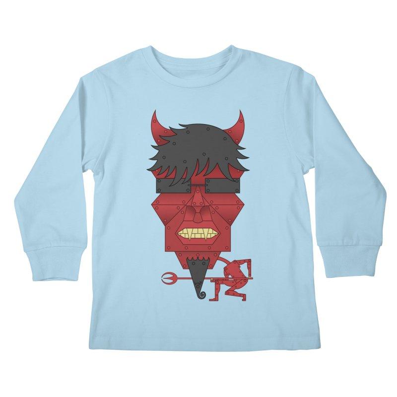 The Devil Kids Longsleeve T-Shirt by brettgilbert's Artist Shop