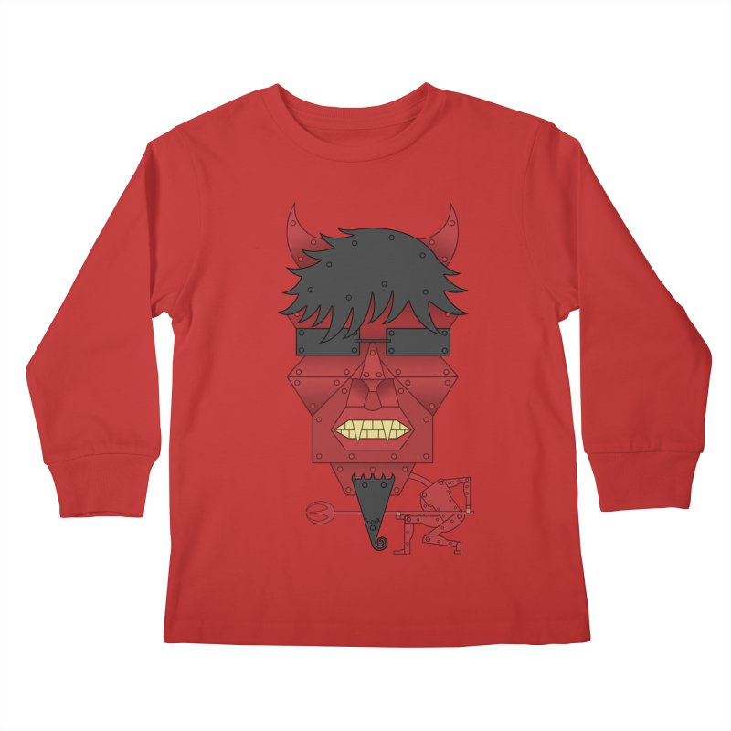 The Devil Kids Longsleeve T-Shirt by brettgilbert's Artist Shop
