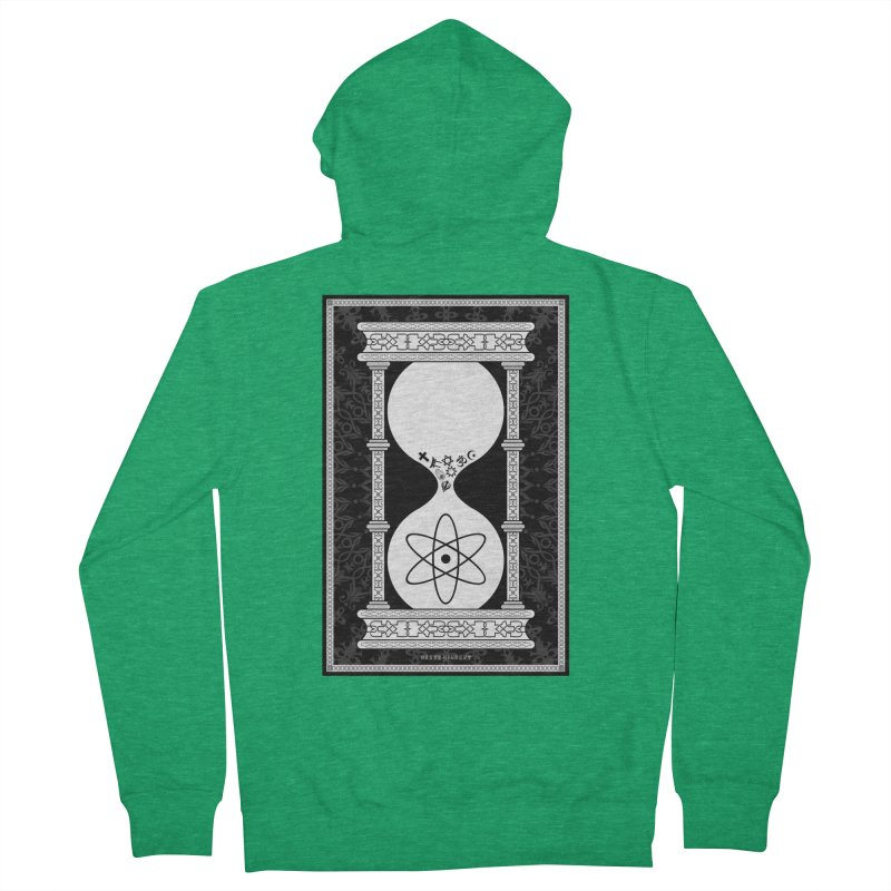 Religion's Time Is Running Out Women's French Terry Zip-Up Hoody by brettgilbert's Artist Shop