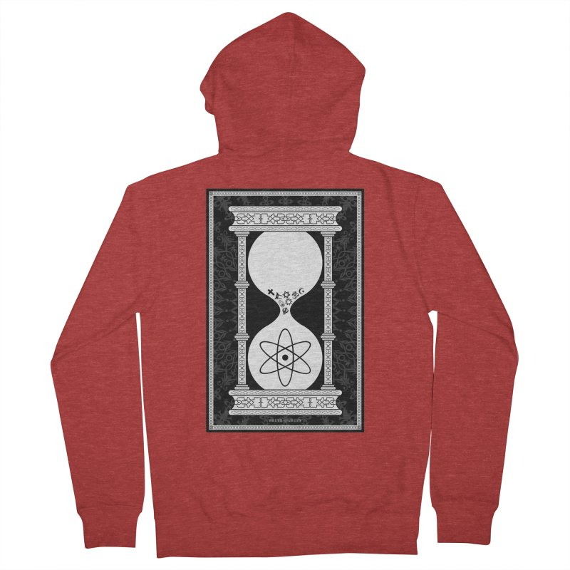 Religion's Time Is Running Out Men's Zip-Up Hoody by brettgilbert's Artist Shop