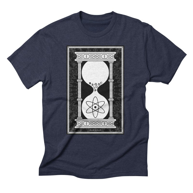 Religion's Time Is Running Out Men's Triblend T-Shirt by brettgilbert's Artist Shop