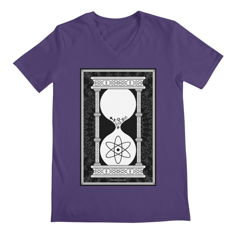 Religion's Time Is Running Out Men's V-Neck by brettgilbert's Artist Shop