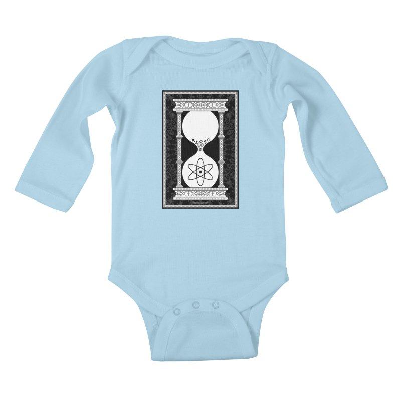 Religion's Time Is Running Out Kids Baby Longsleeve Bodysuit by brettgilbert's Artist Shop