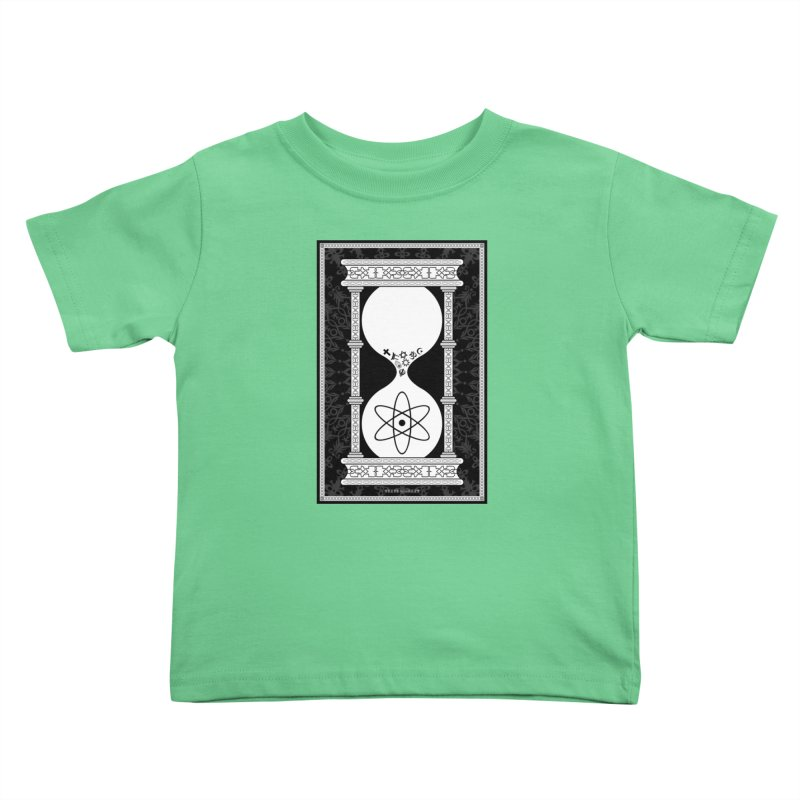 Religion's Time Is Running Out Kids Toddler T-Shirt by brettgilbert's Artist Shop
