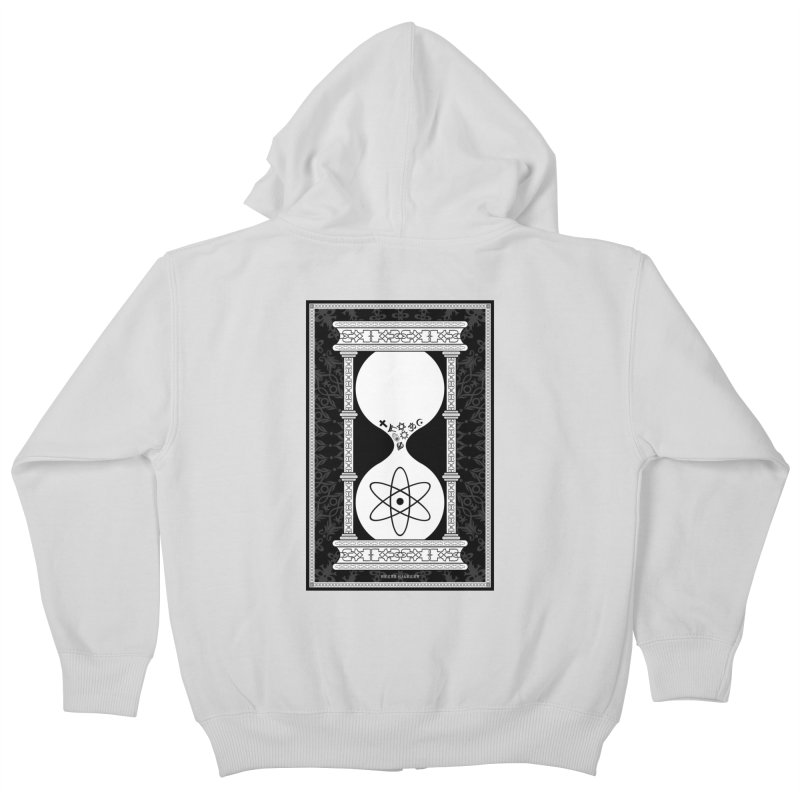 Religion's Time Is Running Out Kids Zip-Up Hoody by brettgilbert's Artist Shop