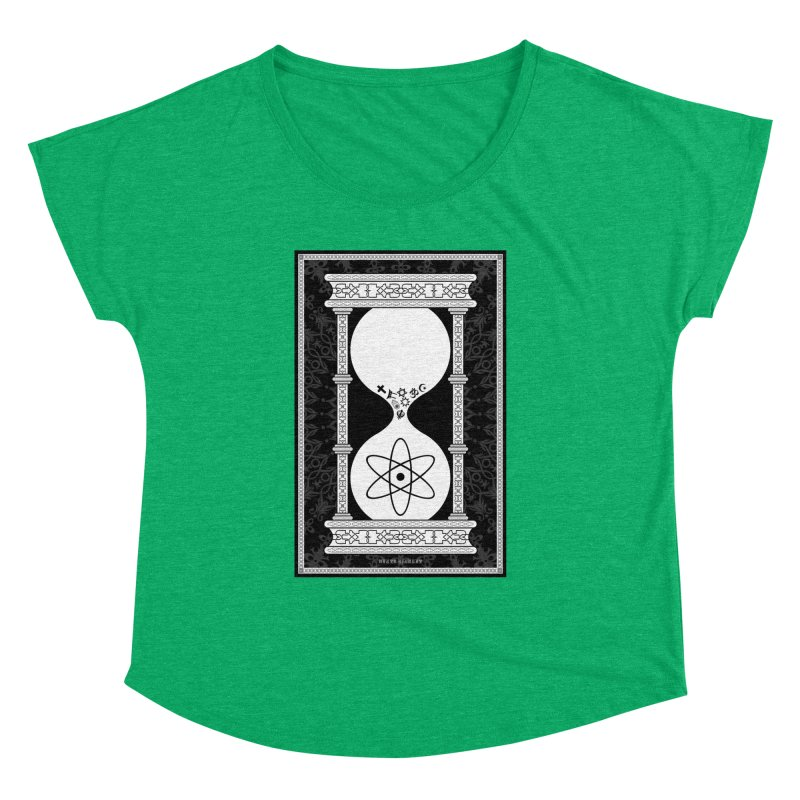 Religion's Time Is Running Out Women's Dolman Scoop Neck by brettgilbert's Artist Shop