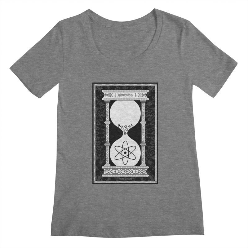 Religion's Time Is Running Out Women's Scoopneck by brettgilbert's Artist Shop