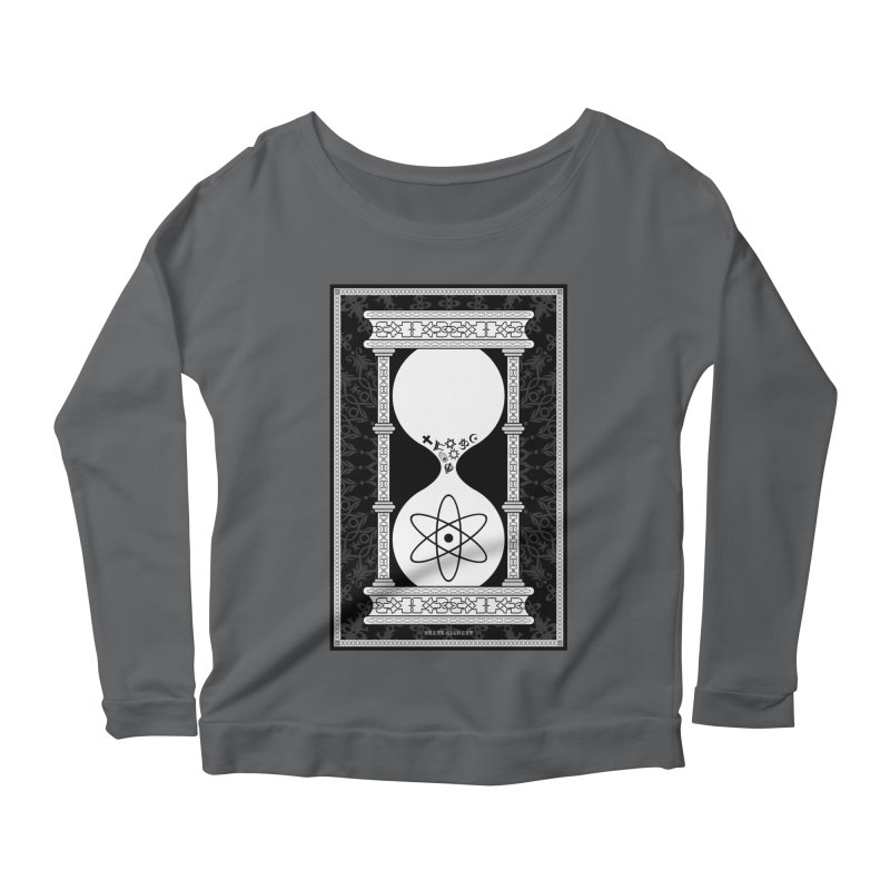 Religion's Time Is Running Out Women's Longsleeve Scoopneck  by brettgilbert's Artist Shop