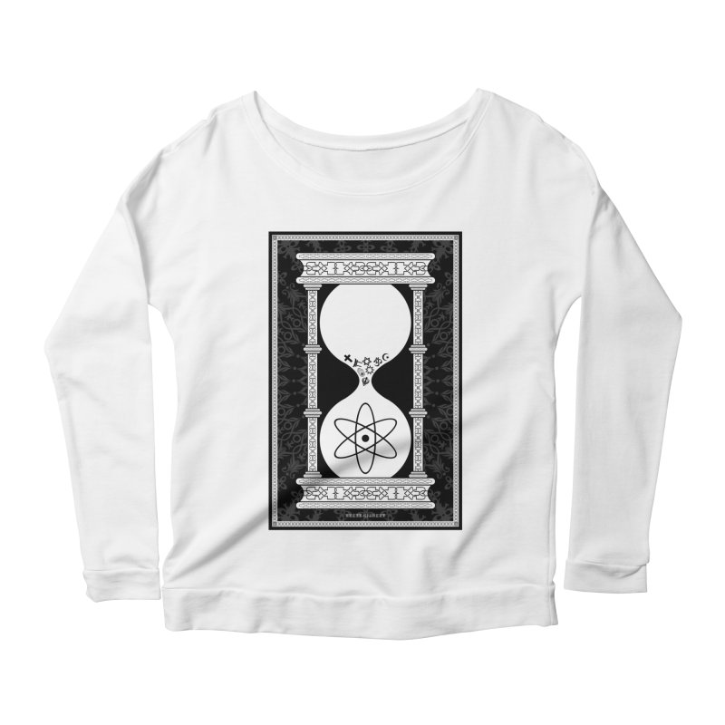 Religion's Time Is Running Out Women's Scoop Neck Longsleeve T-Shirt by brettgilbert's Artist Shop