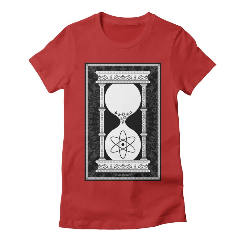Religion's Time Is Running Out Women's Fitted T-Shirt by brettgilbert's Artist Shop