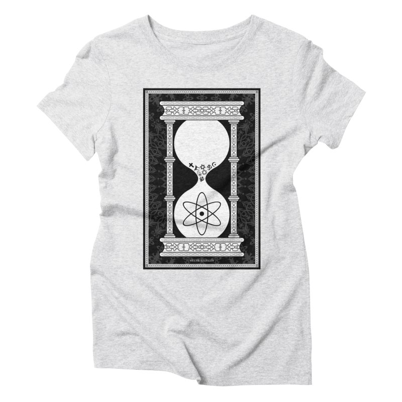 Religion's Time Is Running Out Women's Triblend T-Shirt by brettgilbert's Artist Shop