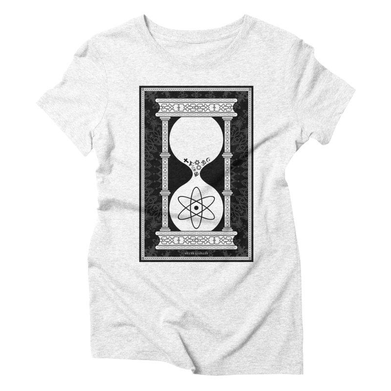 Religion's Time Is Running Out Women's Triblend T-shirt by brettgilbert's Artist Shop