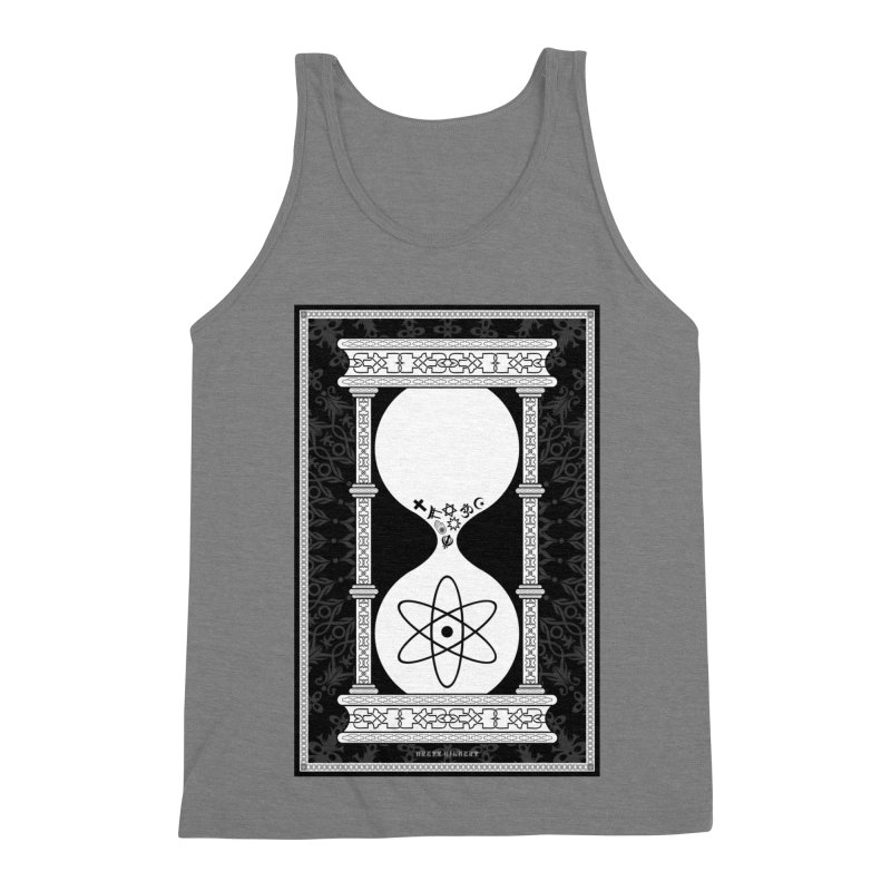 Religion's Time Is Running Out Men's Triblend Tank by brettgilbert's Artist Shop