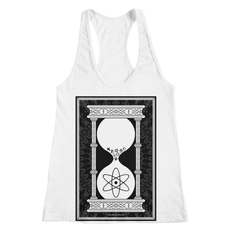 Religion's Time Is Running Out Women's Racerback Tank by brettgilbert's Artist Shop