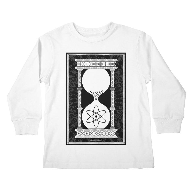 Religion's Time Is Running Out Kids Longsleeve T-Shirt by brettgilbert's Artist Shop