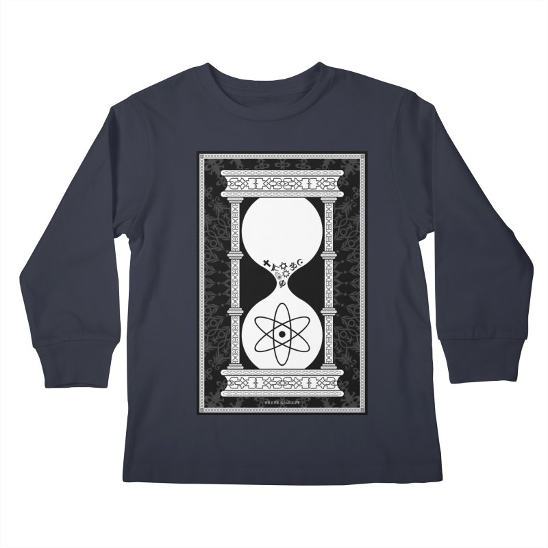 Religion's Time Is Running Out Kids Longsleeve T-Shirt by brettgilbert's Artist Shop