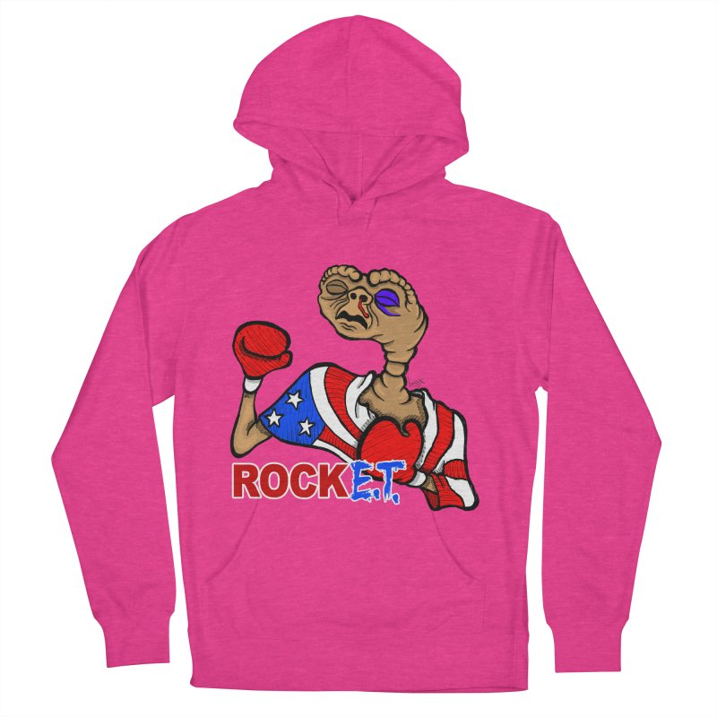 Rock E.T. Women's French Terry Pullover Hoody by brettgilbert's Artist Shop