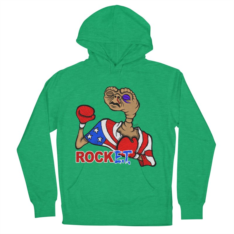Rock E.T. Men's Pullover Hoody by brettgilbert's Artist Shop