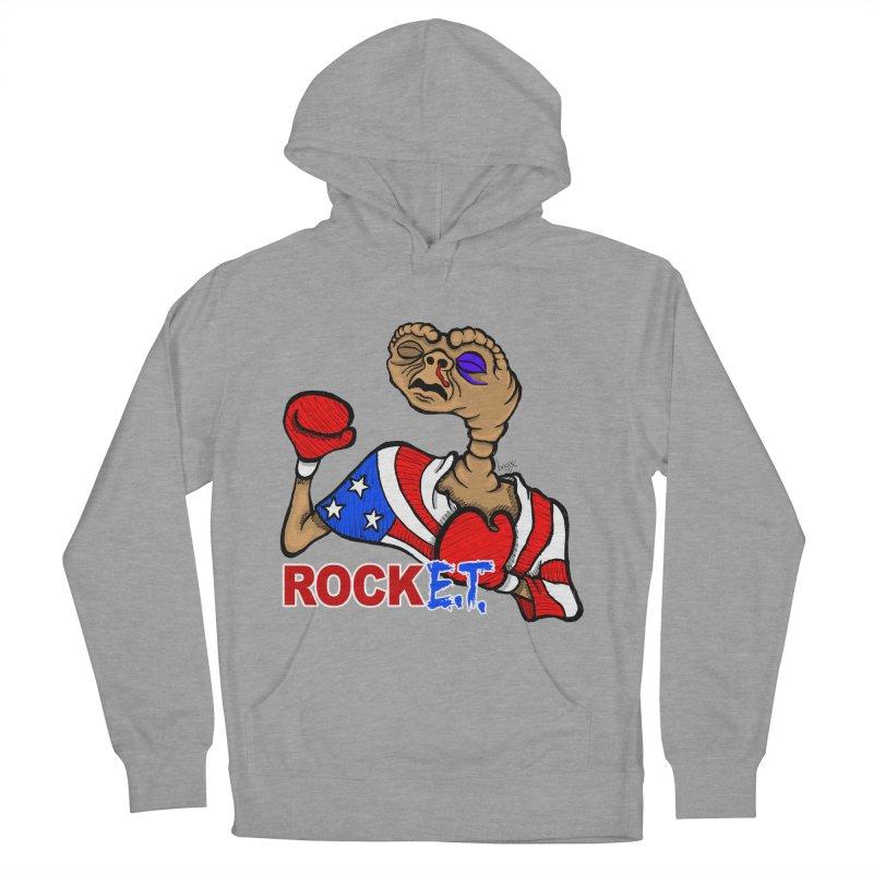 Rock E.T. Men's French Terry Pullover Hoody by brettgilbert's Artist Shop
