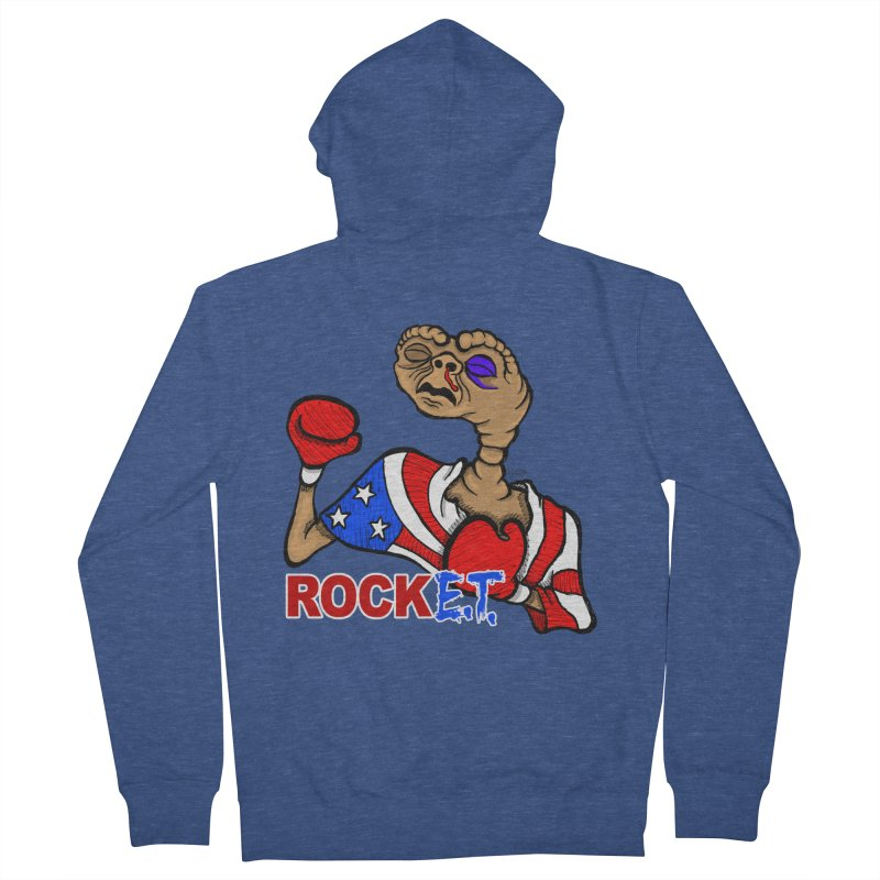 Rock E.T. Women's Zip-Up Hoody by brettgilbert's Artist Shop