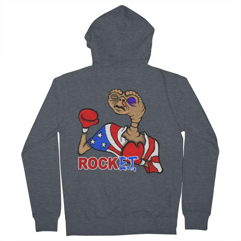 Rock E.T. Men's Zip-Up Hoody by brettgilbert's Artist Shop